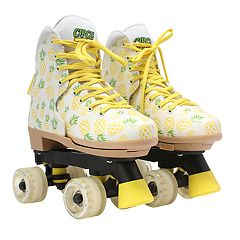 Circle Society Craze Crushed Pineapple Girls' Roller Skates