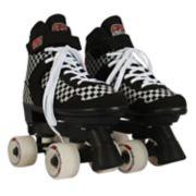 Circle Society Street Checkered Girls' Roller Skates