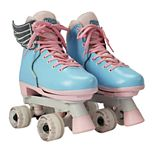 Circle Society Classic Cotton Candy Girls' Roller Skates