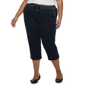 Plus Size Croft & Barrow® Extra Soft Capris