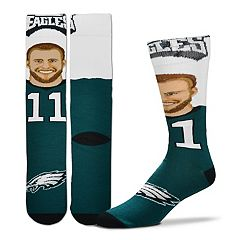 Men's Philadelphia Eagles Carson Wentz Player Socks