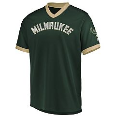 Men's Majestic Milwaukee Bucks Team Glory V-Neck Tee