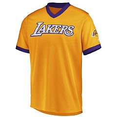 Men's Majestic Los Angeles Lakers Team Glory V-Neck Tee