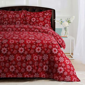 Heavyweight Flannel Oversized Duvet Cover Set