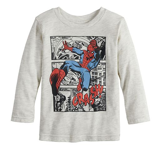 Toddler Boy Jumping Beans® Marvel Spider-Man Crash Graphic Tee