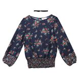 Girls 7-16 Speechless Floral Tunic with Choker Necklace