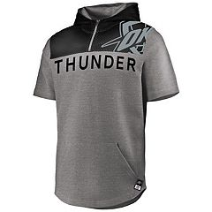 Men's Majestic Oklahoma City Thunder Armor Hooded Tee