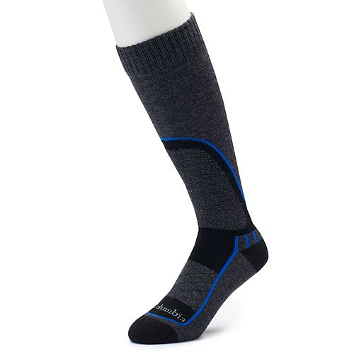 Men's Columbia Wool-Blend Over-The-Calf Ski Socks