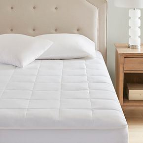 Sleep Philosophy 300 Thread Count Tencel Filled Mattress Pad with Antimicrobial BI-OME Odor Eliminator