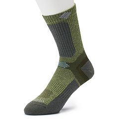 Men's Columbia Merino Wool-Blend Crop Crew Hiking Socks