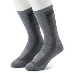 Men's Columbia Wool-Blend Ventilated Boot Crew Socks