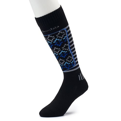 Men's Columbia Fairisle Over-The-Calf Ski Socks