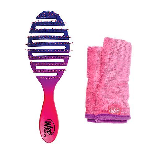 Wet Brush Flex Dry Hair Brush & Hair Towel