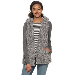 Juniors' Coffee Shop Frosted Wubby Vest