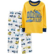 Toddler Boy Carter's Top & Fleece Bottoms Pajama Set