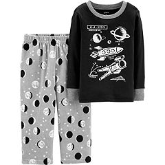 Toddler Boy Carter's Top & Fleece Bottoms Pajamas Set