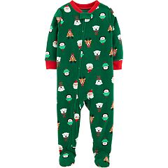 Baby Carter's Microfleece Christmas Footed Pajamas