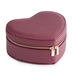 LC Lauren Conrad Heart Travel Jewelry Pouch
