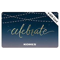 Celebrate E-Gift Card