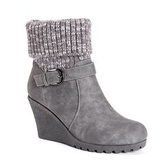 MUK LUKS Georgia Women's Wedge Winter Boots