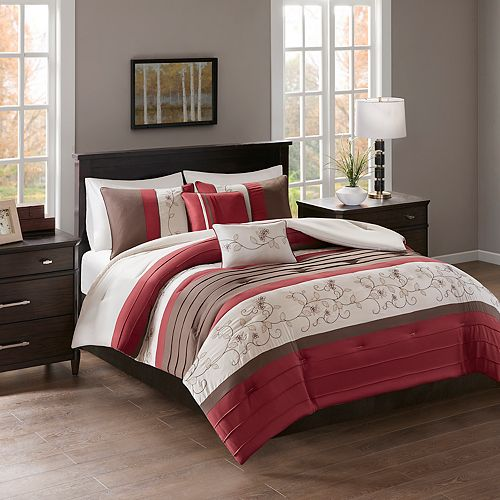 510 Design Lecia Embroidered 5-piece Comforter Set