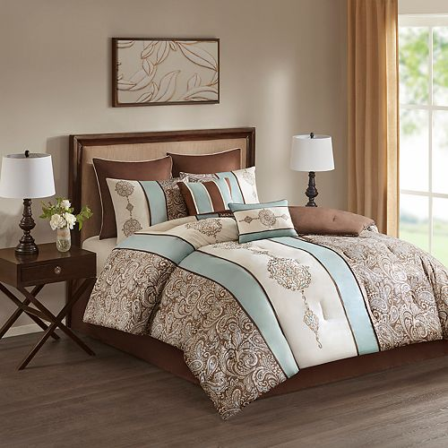 510 Design Marlena Embroidered 8-piece Comforter Set
