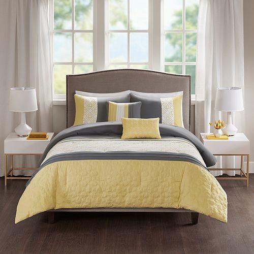 510 Design Shane Embroidered 5-piece Comforter Set