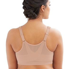 Plus Size Glamorise Magic Lift Posture Back Bra 1264