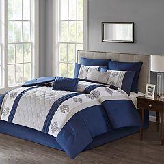 510 Design Donetta Embroidered 8-piece Comforter Set