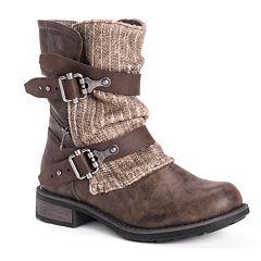 MUK LUKS Logan Women's Ankle Boots
