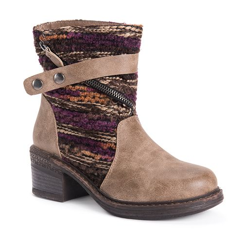 MUK LUKS Marni Women's Ankle Boots