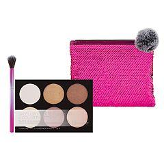 BH Cosmetics Royal Affair Highlight Palette & Brush Set