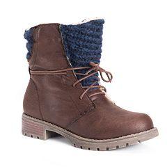 MUK LUKS Tatum Women's Ankle Boots