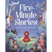 Parragon Five- Minute Stories: Over 50 Tales and Fables Book