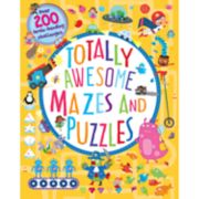 Parragon Totally Awesome Mazes & Puzzles Book