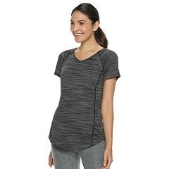 Women's Tek Gear® Base-Layer Space-Dye V-Neck Tee