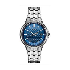 Seiko Men's Coutura Stainless Steel Solar Watch - SNE507