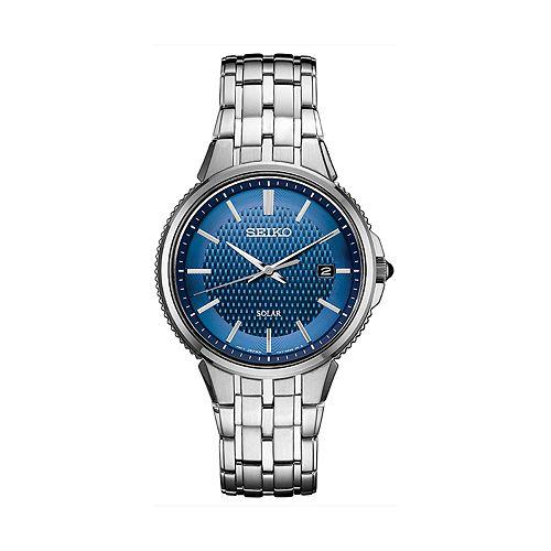 Seiko Men's Coutura Stainless Steel Solar Watch - SNE507