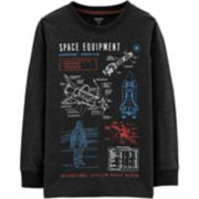 """Boys 4-12 Carter's """"Space Equipment"""" Graphic Tee"""