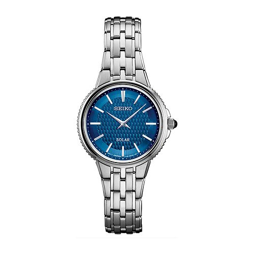 Seiko Women's Stainless Steel Solar Watch - SUP393