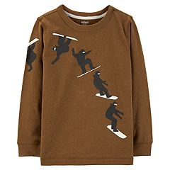 Boys 4-12 Carter's Snowboarder 'Eat. Sleep. Ride. Repeat' Graphic Tee