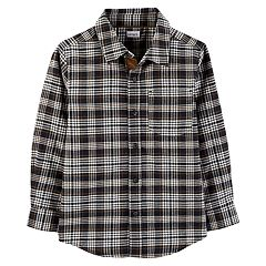 Boys 4-12 Carter's Woven Button Down Shirt