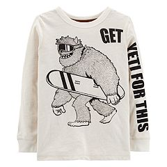 Boys 4-12 Carter's Yeti Graphic Tee