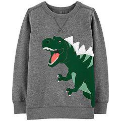 Boys 4-12 Carter's T-Rex Dinosaur Pullover Sweatshirt