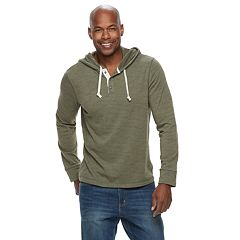 Men's SONOMA Goods for Life™ Terry Henley Hoodie