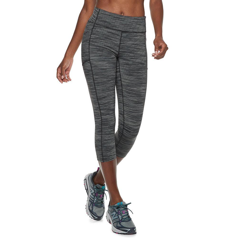Women's Tek Gear® Side Pocket Mid-Rise Performance Capri Leggings