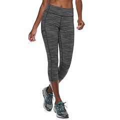 Women's Tek Gear® Space-Dye Mid-Rise Capri Leggings