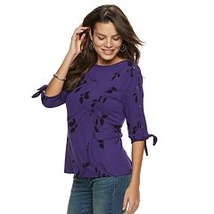 Women's Apt. 9® Snap Sleeve Tee