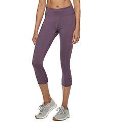 Women's Tek Gear® Open-Work Mid-Rise Capri Leggings