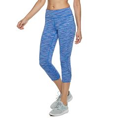 Women's Tek Gear® Open-Work Mid-Rise Capri Leggings